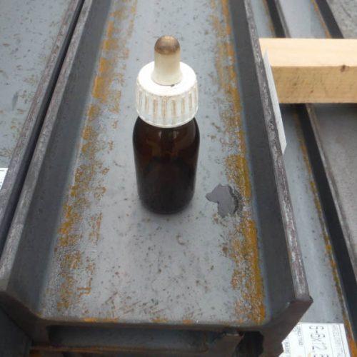 Test de salinidad con Nitrato de plata