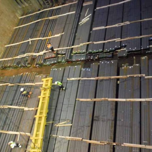 Loading of Steel beams