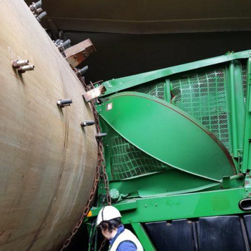 Daños en carga de proyecto por corrimiento de carga