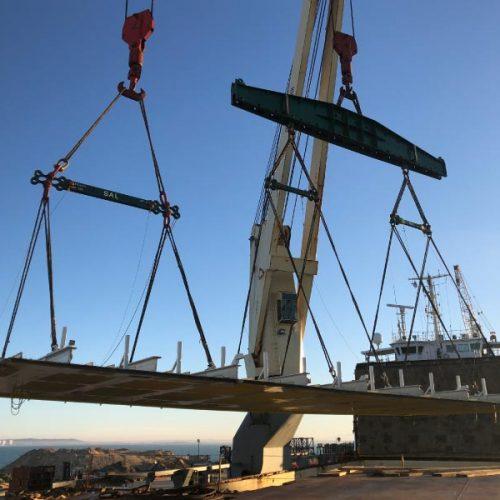 Carga de bloques para estructura Off shore en Yalova – Turquia
